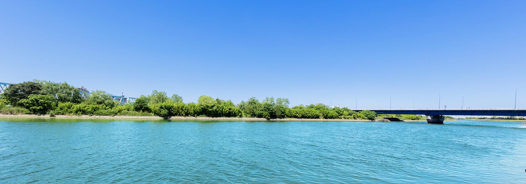 きれいな川の画像